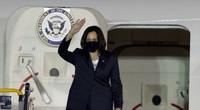 Những hình ảnh Phó Tổng thống Mỹ Kamala Harris tới Hà Nội