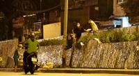 Hà Nội: Một số người dân trèo rào trong đêm muốn trốn khỏi khu cách ly phường Chương Dương