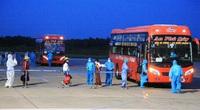 Chuyến bay VN 9262 chở 217 người Nghệ An từ TP.HCM về tới sân bay Vinh an toàn