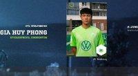 Gia Huy Phong, cầu thủ gốc Việt đang khoác áo U19 Wolfsburg là ai?