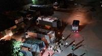 """Quận Hoàng Mai, Hà Nội: Nhan nhản điểm giao nhận hàng hoá """"chui"""", tiềm ẩn nguy cơ lây lan Covid-19"""