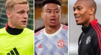 M.U thanh lý 7 cầu thủ: Có Van de Beek, Lingard và Martial