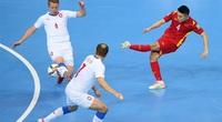 """Buộc CH Czech """"tắt tiếng"""", ĐT  futsal Việt Nam lọt vào vòng 1/8 World Cup"""