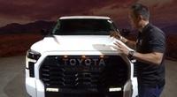 Trải nghiệm thực tế xe bán tải Toyota Tundra 2022 vừa ra mắt, hầm hố đấu Ford F-150 Raptor