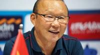 Clip: Bất ngờ cảm xúc của HLV Park Hang-seo sau buổi bốc thăm AFF Cup
