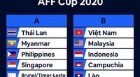 """Kết quả bốc thăm AFF Cup 2020: ĐT Việt Nam cùng bảng 4 """"bại tướng"""""""