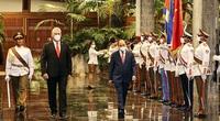 Việt Nam - Cuba phản đối tiêu chuẩn kép để can thiệp công việc nội bộ các nước