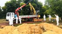 Quảng Bình: Lãnh đạo xã, phường nói về việc trực tiếp chôn cất người tử vong do Covid-19