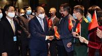 Chủ tịch nước chứng kiến lễ ký kết hợp đồng giữa các doanh nghiệp Việt Nam và Hoa Kỳ