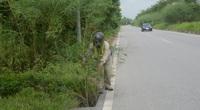 Vĩnh Phúc: Tiềm ẩn nguy cơ mất an toàn giao thông tại tuyến đường Mê Linh
