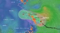 Áp thấp nhiệt đới mạnh lên thành bão số 6, mưa to từ Quảng Trị đến Bình Định