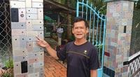 Mục sở thị ngôi nhà độc, dị ở Vĩnh Long ốp hơn 2.000 vỏ điện thoại Iphone