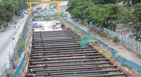 Cận cảnh ga ngầm metro Hà Nội bị nhà thầu nước ngoài dừng thi công