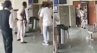 Video đấu súng ác liệt giữa tòa, trùm xã hội đen khét tiếng bị thanh toán ngay tại phòng xử án