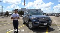 Người Việt trải nghiệm chi tiết Ford Explorer 2022 sắp bán ở Việt Nam
