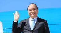 Chuyên cơ chở Chủ tịch nước Nguyễn Xuân Phúc hạ cánh xuống sân bay Nội Bài