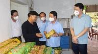 Ông Hầu A Lềnh, Bộ trưởng, Chủ nhiệm Ủy ban Dân tộc của Chính phủ làm việc với Ủy ban nhân dân tỉnh Thái Nguyên