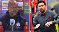 """Đối diện """"tam tấu hủy diệt"""" của PSG, HLV Guardiola thừa nhận """"bó tay"""""""