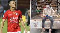 V.League 2021 bị hủy, cầu thủ Việt lao đao: Người thu gom phế liệu, kẻ làm công nhân