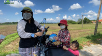 Phụ huynh nhọc nhằn rời thành phố Đà Nẵng về quê nhập học cho con