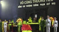 Hôm nay, Bộ Công an tổ chức tang lễ Thứ trưởng Phạm Quý Ngọ