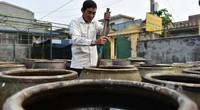 Cận cảnh quy trình sản xuất nước mắm truyền thống Cát Hải: 2 năm mới cho ra 1 mẻ