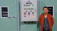 Nông dân xứ nhãn chế tạo máy sấy đa năng, rẻ bằng nửa máy Trung Quốc