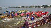 Kịch tính đua thuyền Festival Huế 2014