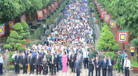 TP.HCM: Hàng ngàn người dân tham dự Lễ Giỗ Tổ Hùng Vương