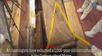 Mở quan tài cổ nghìn năm, phát hiện hài cốt bí ẩn ở Đức