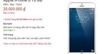 iPhone 6 xách tay về Việt Nam giá bao nhiêu?