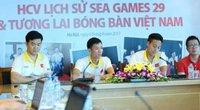 """Đoạt HCV SEA Games lịch sử, bóng bàn VN vẫn """"rơi"""" Cúp Chiến Thắng?"""