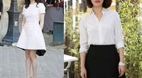 Cách mặc để tăng 10cm chiều cao của Song Hye Kyo