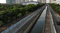 Ảnh, clip: Rào chắn để xây đường đua F1 đầu tiên tại Việt Nam