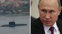 Putin triển khai tàu ngầm tới eo biển Kerch nắn gân Ukraie