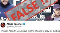 """Sanchez nói gì về cáo buộc """"đặt cửa"""" HLV Mourinho bị sa thải?"""