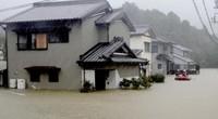 Ảnh: Nhật Bản oằn mình chống siêu bão Hagibis gây động đất, lũ lụt, lở đất
