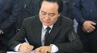 Bộ trưởng Phùng Xuân Nhạ đọc điếu văn tiễn đưa Thứ trưởng Lê Hải An