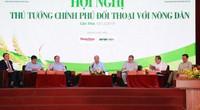 Các bộ trưởng hứa gì tại hội nghị Thủ tướng đối thoại với nông dân?