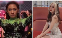 Hot girl áo xanh giơ bảng tên cực quyến rũ trong Rap Việt là ai?