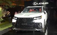 Siêu xe Lexus LX 600 2022: Hầm hố, tiện nghi chuẩn xe ông chủ