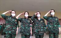 Bóng hồng học viện quân y hỗ trợ TP.HCM chống dịch: Những hồi ức khó phai