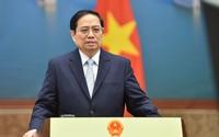 Thủ tướng Phạm Minh Chính khẳng định mục tiêu nâng cao tỷ trọng năng lượng tái tạo