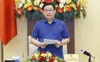 Chủ tịch Quốc hội chủ trì làm việc về chính sách tài khóa và tiền tệ