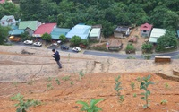 Thanh Hóa di dời 14 hộ dân cạnh Quốc lộ vì vết nứt lạ dấu hiệu sạt lở