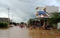 Đắk Lắk: Đưa 9 người đi làm rẫy bị mắc kẹt do lũ đến nơi an toàn