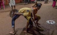 Ảnh: Võ đường độc đáo của cụ bà 78 tuổi ở Ấn Độ