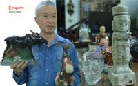 """Nhà ngoại giao dành nhiều tháng lương  """"nướng"""" vào thú sưu tầm vỏ chai rượu  hình thù độc nhất Việt Nam"""