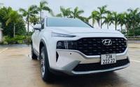 Chủ xe Hyundai Santa Fe 2021 bốc biển ngũ 2, trị giá hàng tỷ đồng