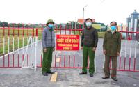 Nam Định: Phong tỏa toàn bộ một thôn vì có ca Covid-19